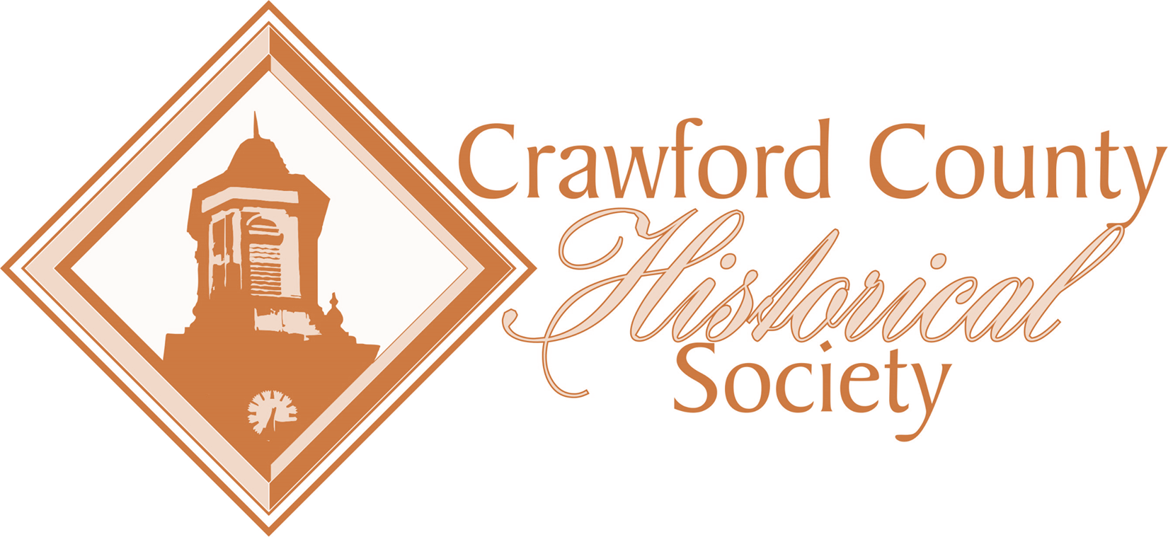 crawford county historical society Logo