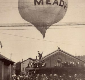 Alic Thruston Meadville Labor Day 1908 flight